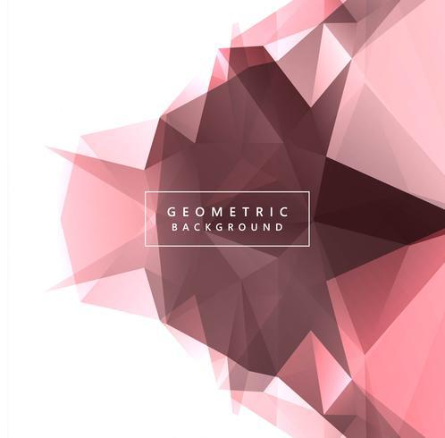 Ilustração de fundo abstrato geométrico lindo polígono