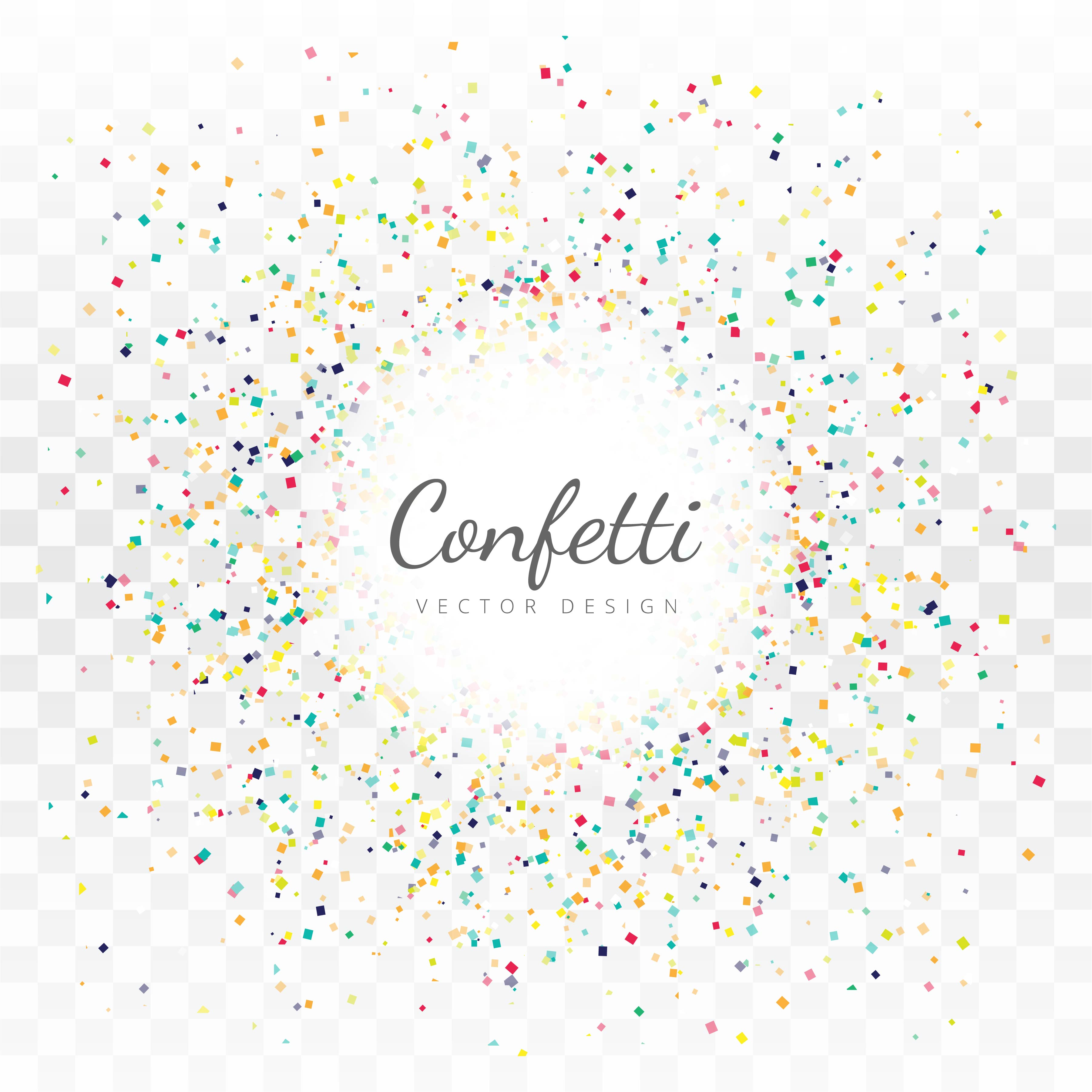 Abstract Colorful Confetti Background 243901