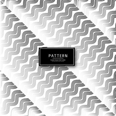 Linhas geométricas abstratas elegantes padrão de fundo vector