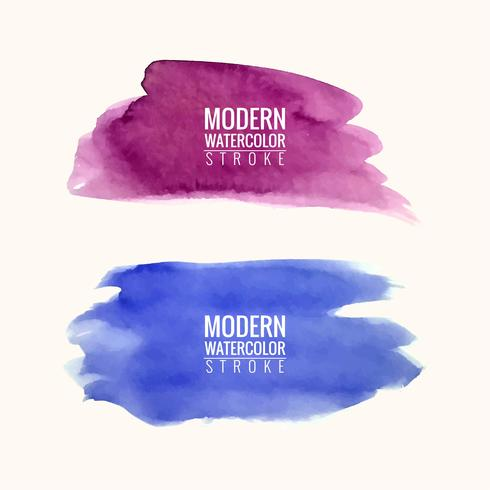 modern colorful watercolor spot background