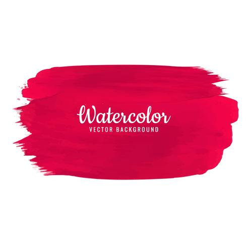 Beautiful watercolor stroke design