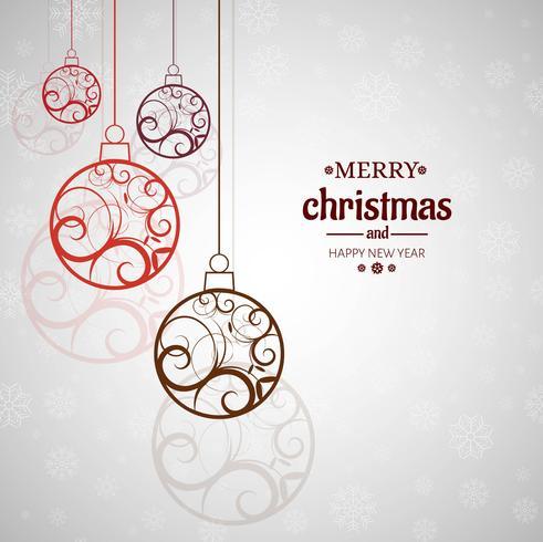 Moderner Weihnachtshintergrund