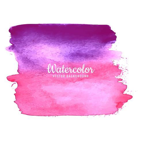 Fundo pintado colorido abstrato aquarela