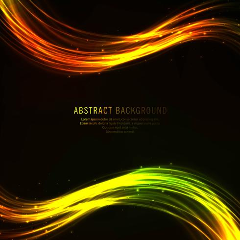 Abstract colorful shiny business wave background vector