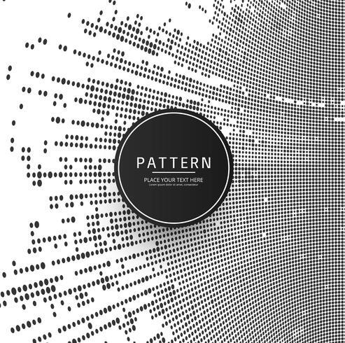 moderne halftone patroon achtergrond