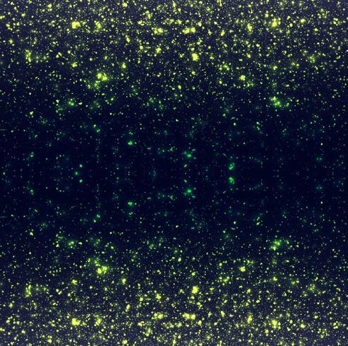 Abstraktes glühendes buntes Funkelnhintergrund vektor