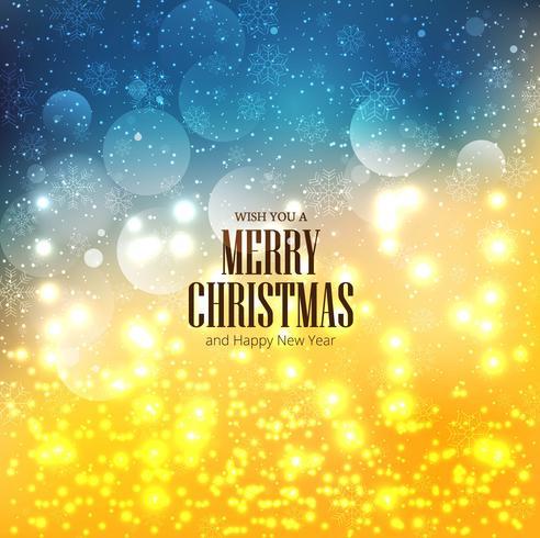 Eleganter Weihnachtsbunter Hintergrund mit Schneeflocken entwerfen