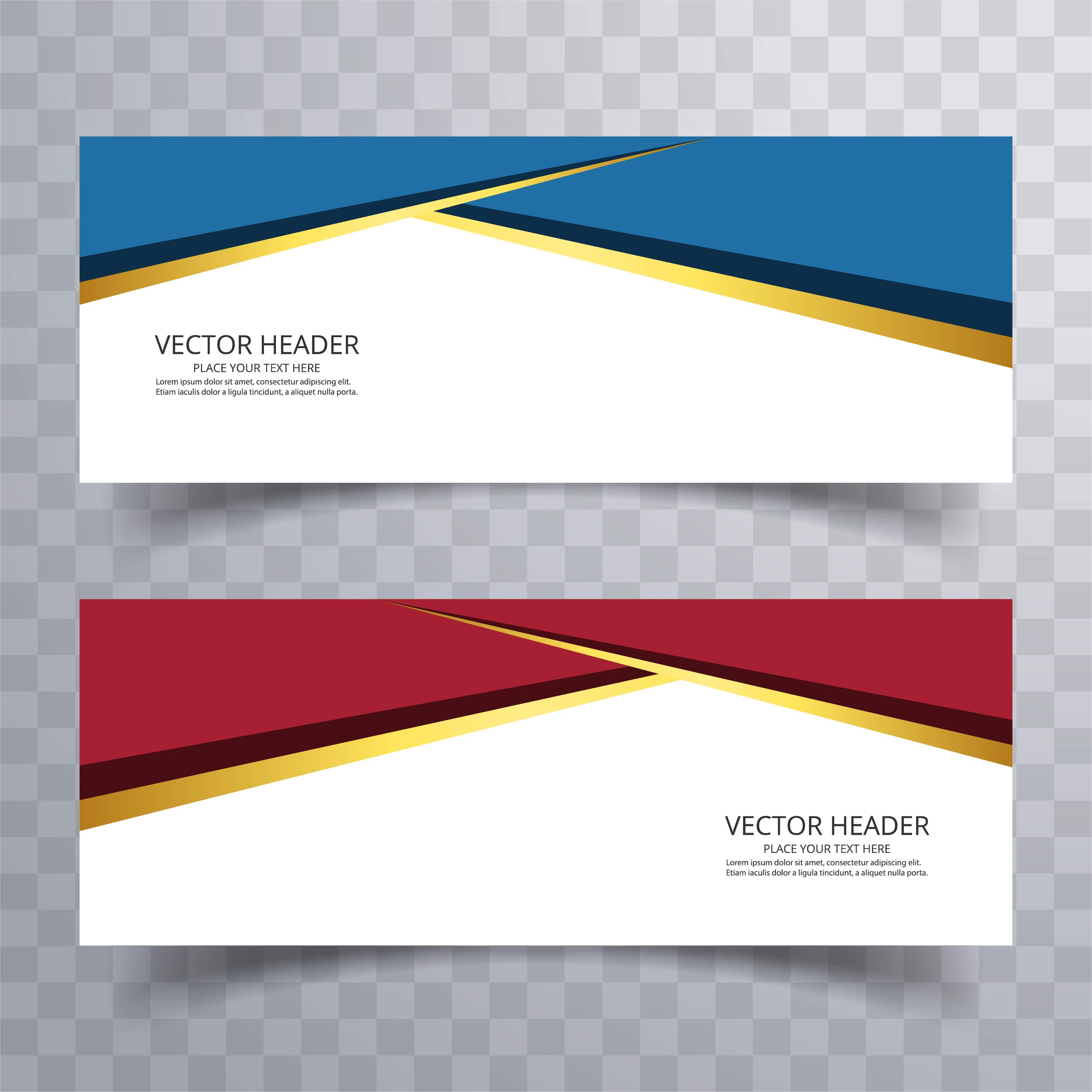 Banner background modern template design - Download Free ...