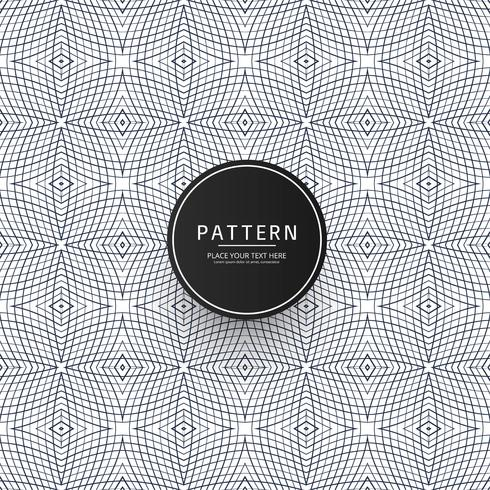 Abstract geometric seamless pattern with crossing thin lines