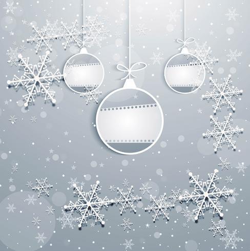 Modern jul bakgrund