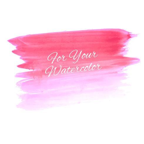 Abstracte mooie roze waterverfillustratie als achtergrond