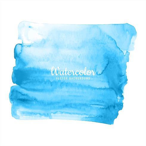Fundo azul aquarela para design de texturas
