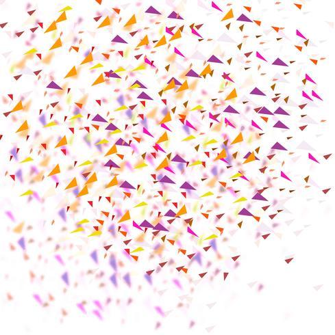 modern färgstark konfetti bakgrund