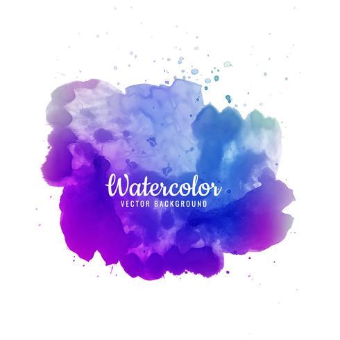 Abstracte penseelstreek voor ontwerp en kleurrijke waterverfborstels