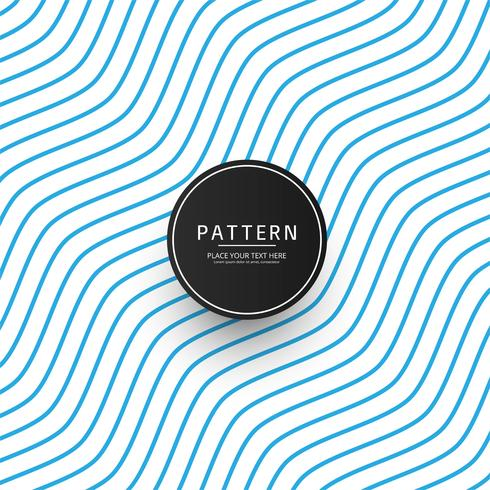 Seamless monochrome waving pattern background vector