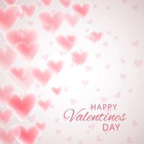 Saint-Valentin, s Day Card Holiday Love, fond de forme de coeur