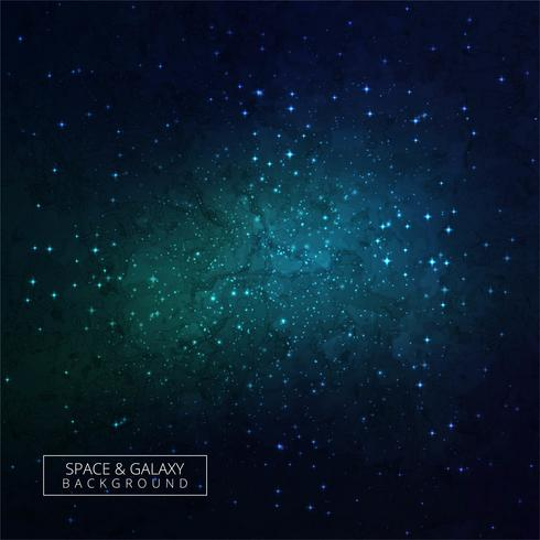Schöner Hintergrund des nächtlichen Himmels mit dunklem Galaxie-BAC der Sterne