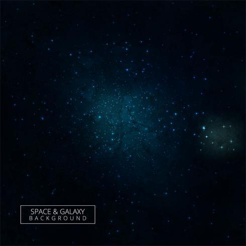 Glänzende Sterne und Galaxie Raum Himmel Nacht Hintergrund