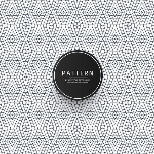 Abstract geometric seamless pattern design