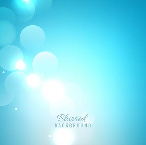 Elegante sfondo sfocato blu vettore