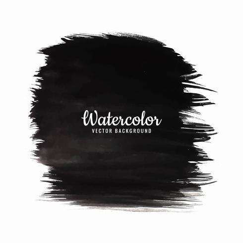 modern black watercolor background