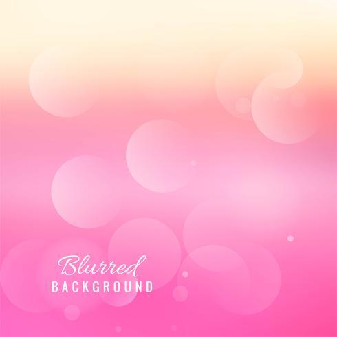Vacker abstrakt rosa suddig bakgrund