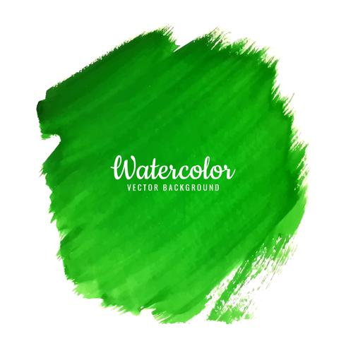 modern green watercolor background