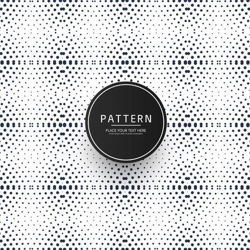 Seamless prickad geometrisk mönster design vektor