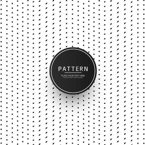 Modernes punktiertes Streifenmusterdesign