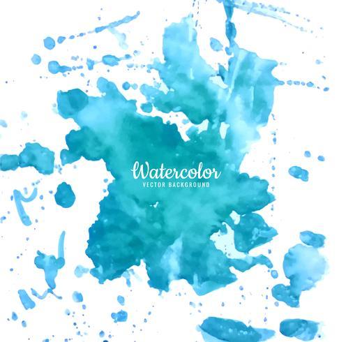 fond aquarelle bleu moderne