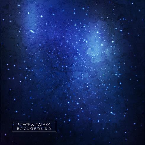 Fond de galaxie cosmique réaliste abstrait