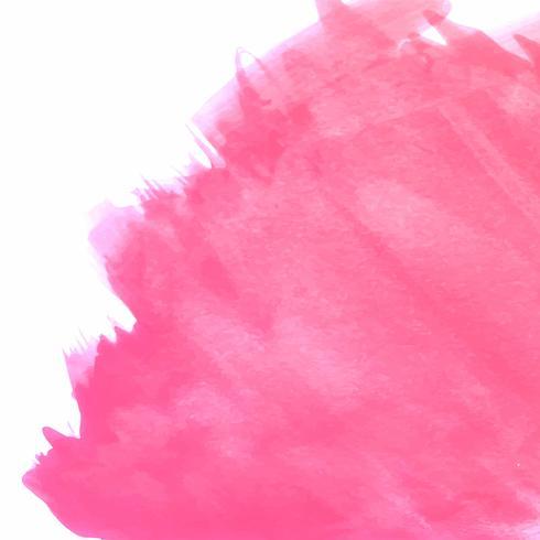 Fondo de acuarela rosa moderno