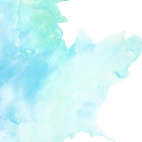 fondo de acuarela azul moderno vector