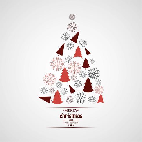 Moderner Weihnachtsbaum Hintergrund
