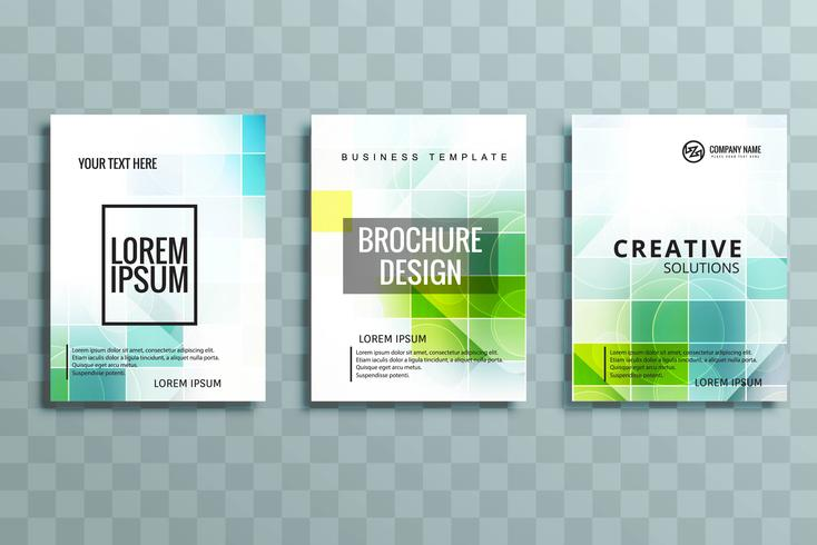 modern business stationery set