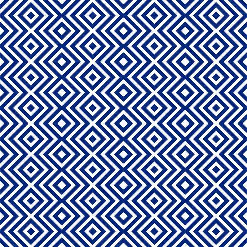 Fondo de patrón geométrico azul abstracto hermoso