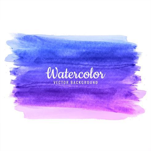 abstrakt handritad färgrik akvarell stroke bakgrund