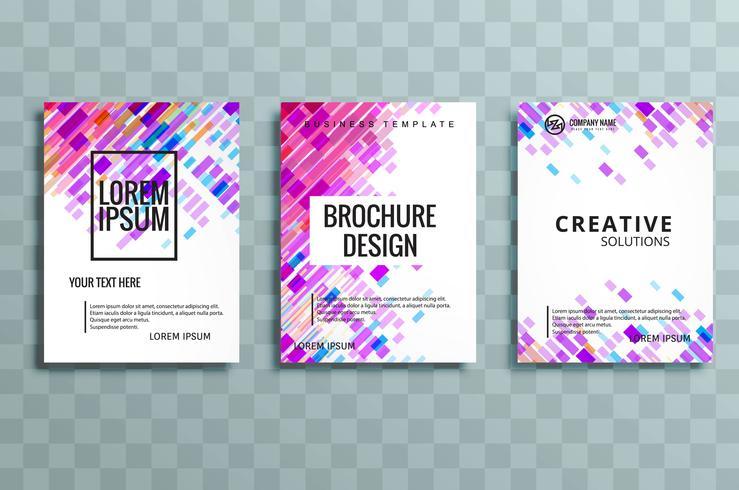conception de la brochure d'affaires moderne