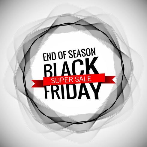 modern black friday sale stylish background
