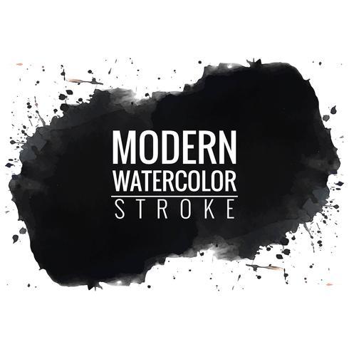 moderner schwarzer Aquarellhintergrund