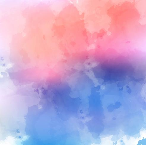 Abstract beautiful colorful watercolor background