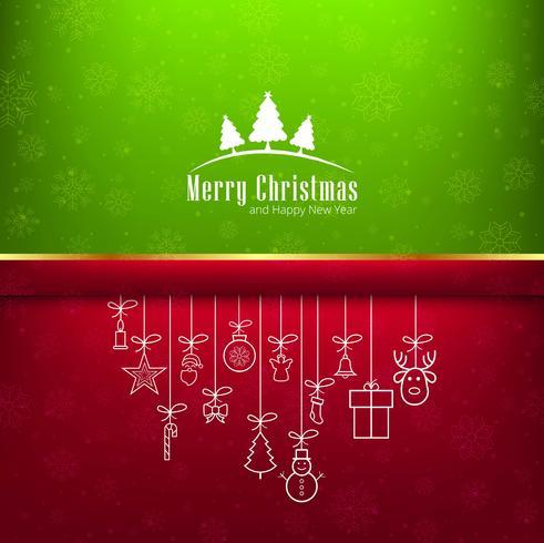 Moderne glanzende Kerstmisachtergrond