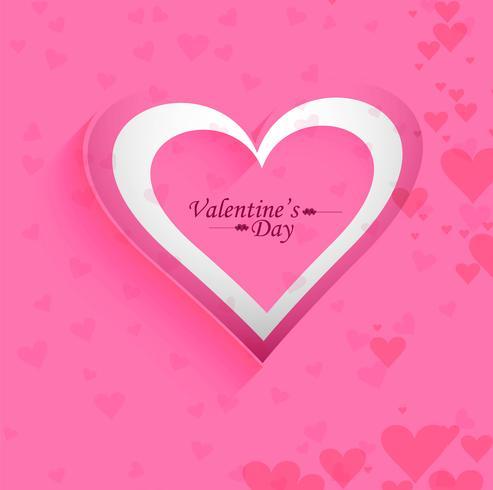 Beautiful Valentine's background design