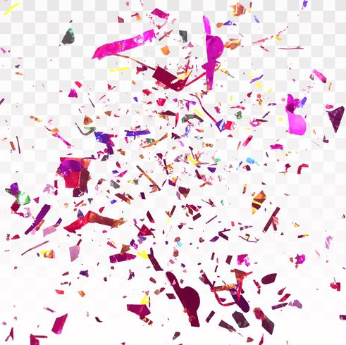 Abstract Colorful conffeti background vector illustration