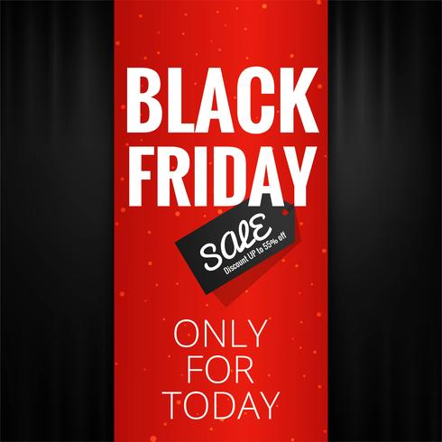modern black friday sale background