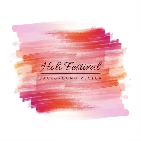 Heureux fond de festival coloré holi