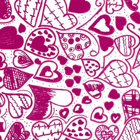 Modern valentine''s day background