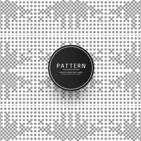 Geometrisk mönster prickad vektor design