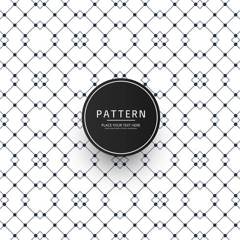 Naadloze geometrische creatieve patroon ontwerp vector