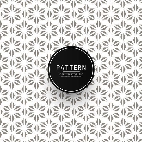 Diseño de patrón de ornamento floral abstracto sin fisuras